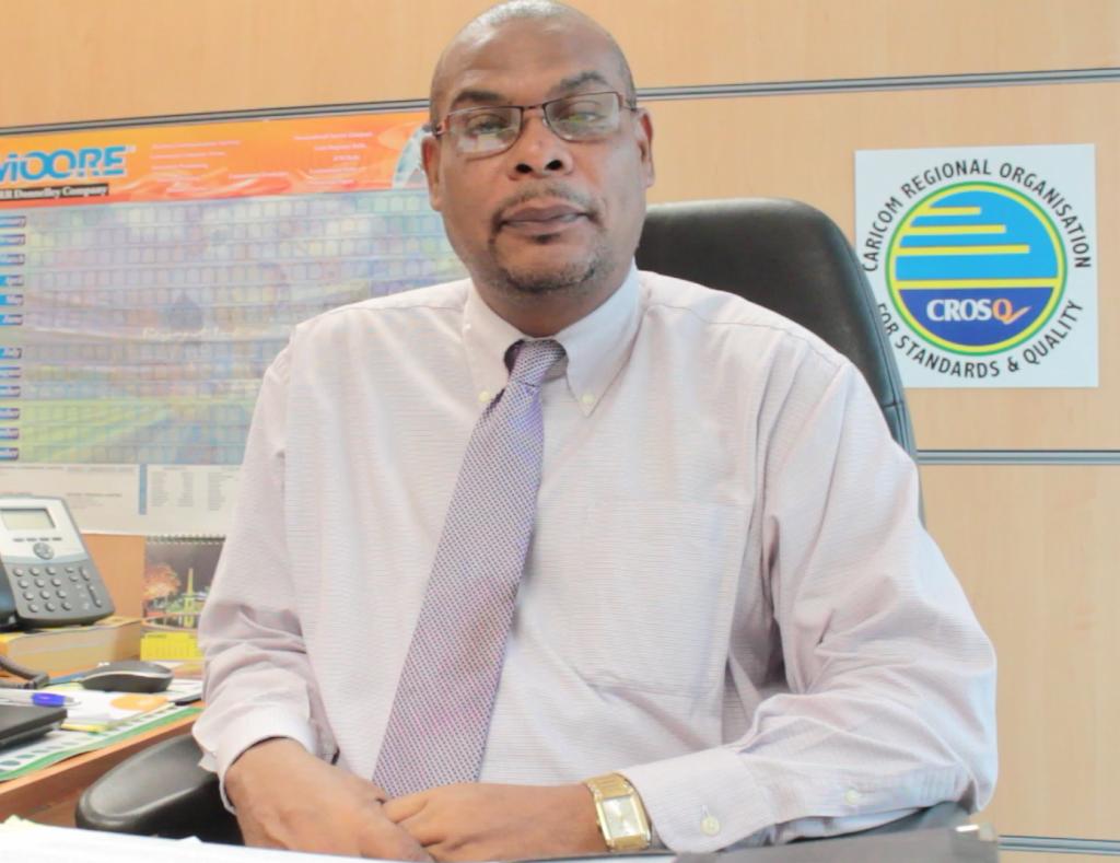 CROSQ Technical Officer – Standards, Mr. Fulgence St. Prix.