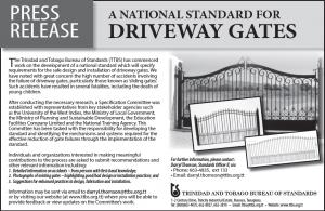 Press Release - Driveway gates
