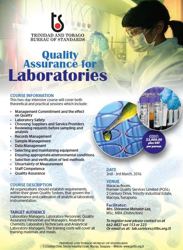Quality Assurance 2016