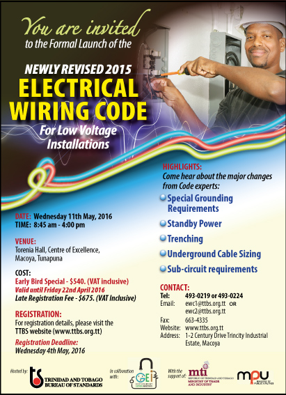 Formal Launch of the Newly Revised 2015 Electrical Wiring Code