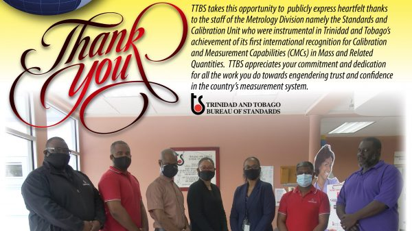 T&T Receives International Recognition For Mass And Related Quantities